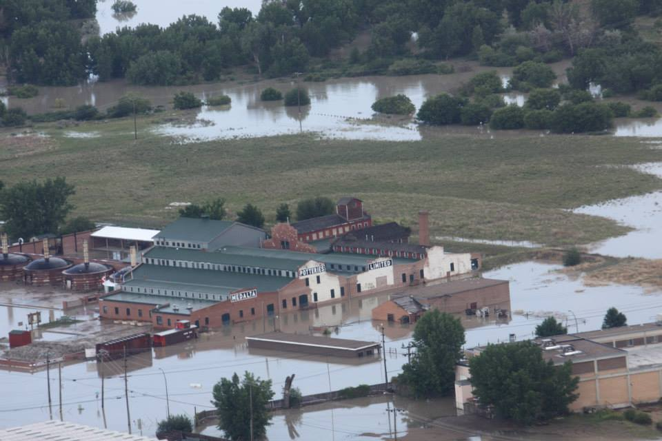 MedaltaPotteries Flooded (City of MedHat)