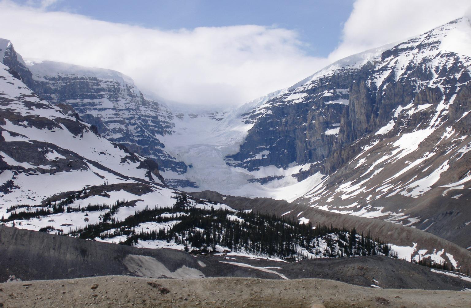 Dome Glacier.